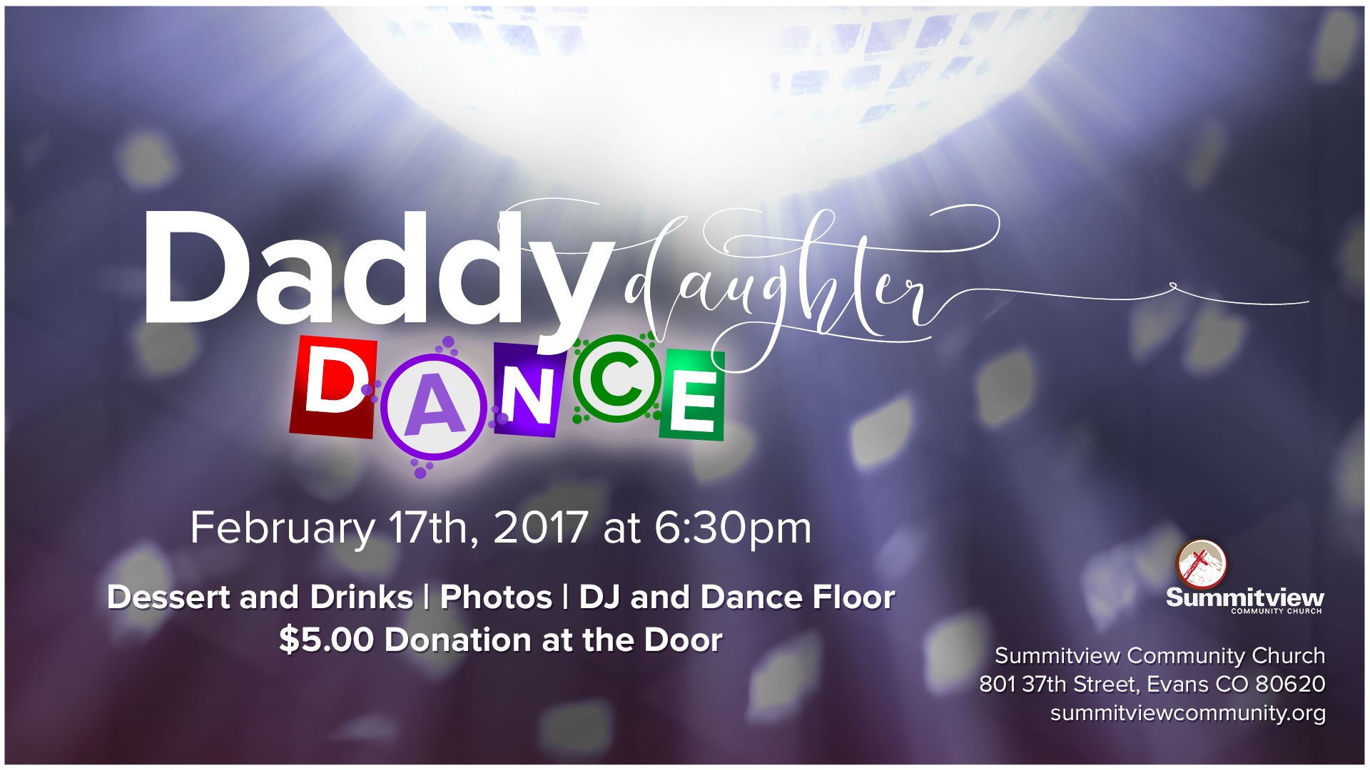 daddy daughter dance banner image