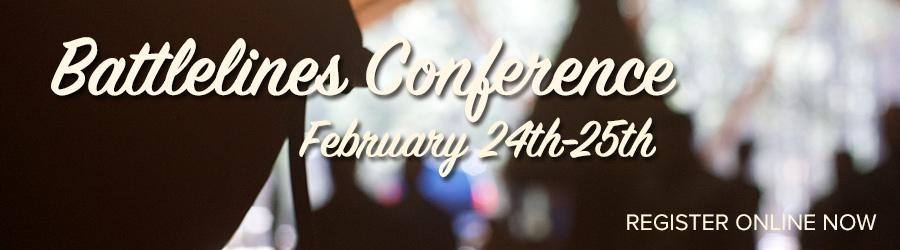 battlelines conference banner image