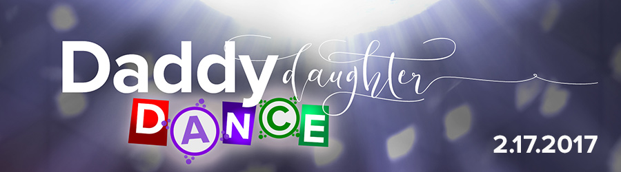 daddy daughter dance 2017 banner image