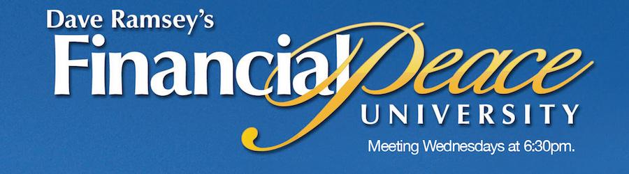financial peace university banner image