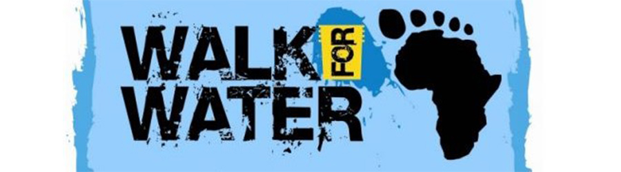 walk for water project banner